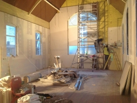 St Martins Church renovation