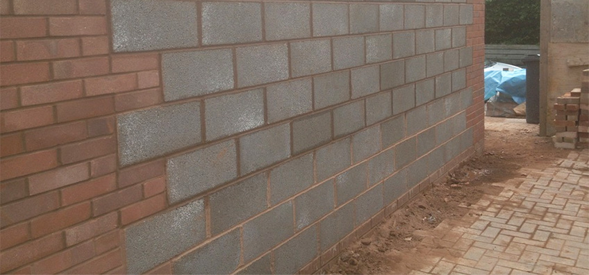 brick work and block work